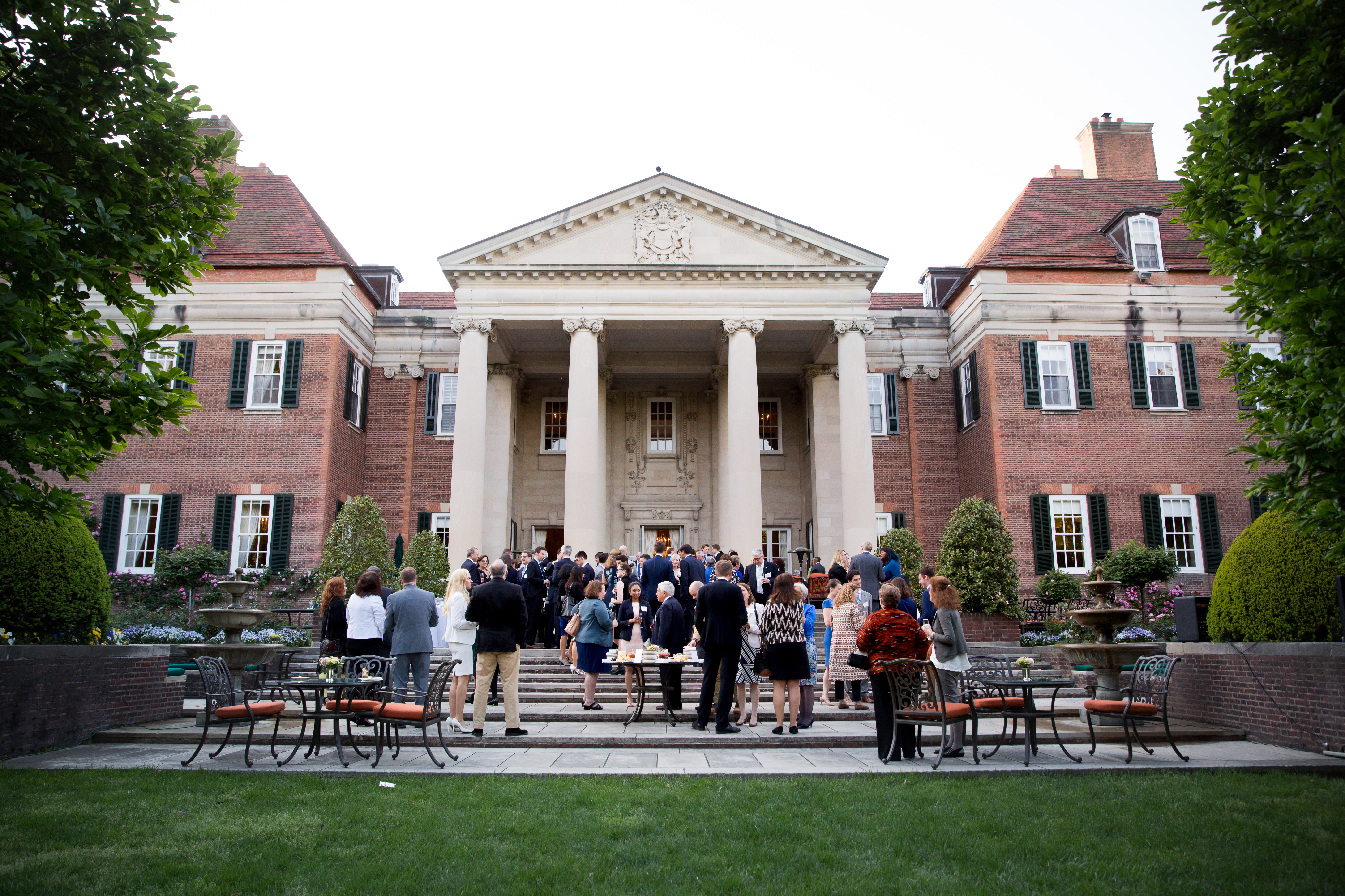 The British Ambassador to the US hosted a reception in celebration of the US-UK Fulbright Commission's 70th anniversary at his official residence in in Washington, DC